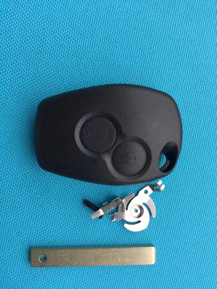 ZABEUDEIR Per Renault Clio III Maestro Kangoo II Modus Modus Master Twingo 2 Tasto Chiave A Distanza di caso di shell uncut lama no logo