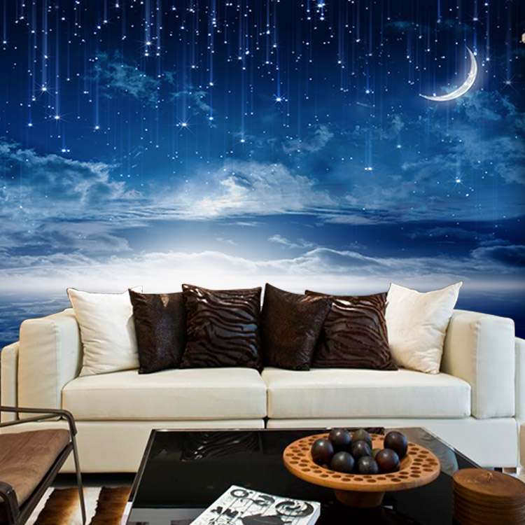 Star themes promotion shop for promotional star themes on for Ceiling mural in smokers lounge