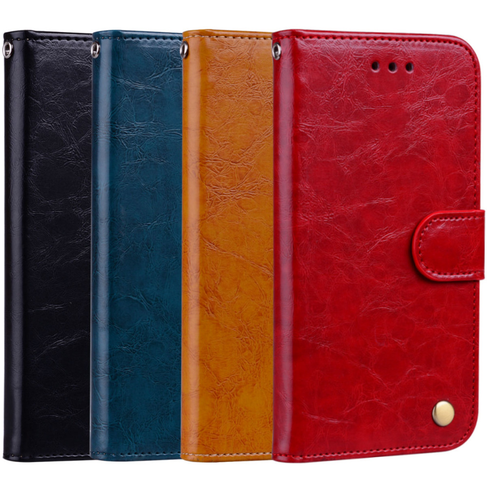 A9 2018 Retro PU Leather Wallet Phone Cases For Samsung Galaxy A9 2018 A9S A920 Flip Stand Cover Funda