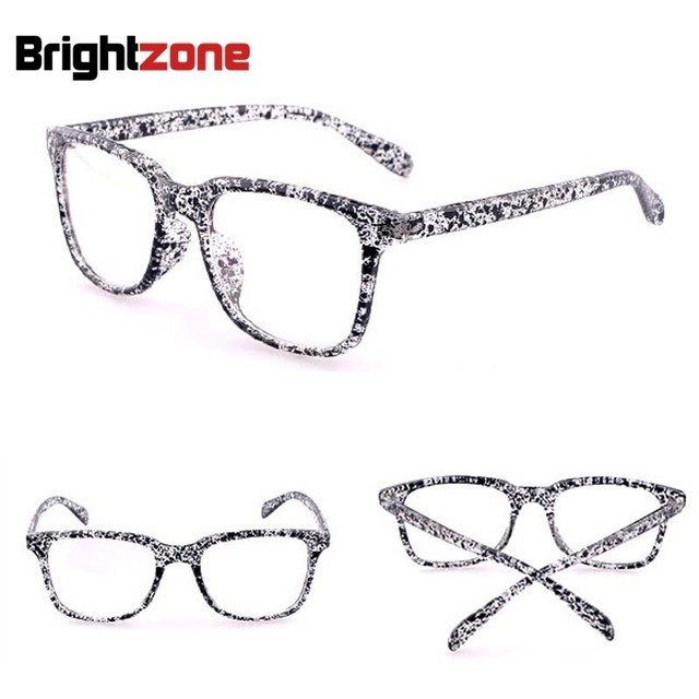 c8dc8e3d8 Brightzone الأزياء إطار كبير خمر نظارات إطارات نظارات بصر للرجال اكسسوارات  النساء عادي نظارات Gozluk Oculos
