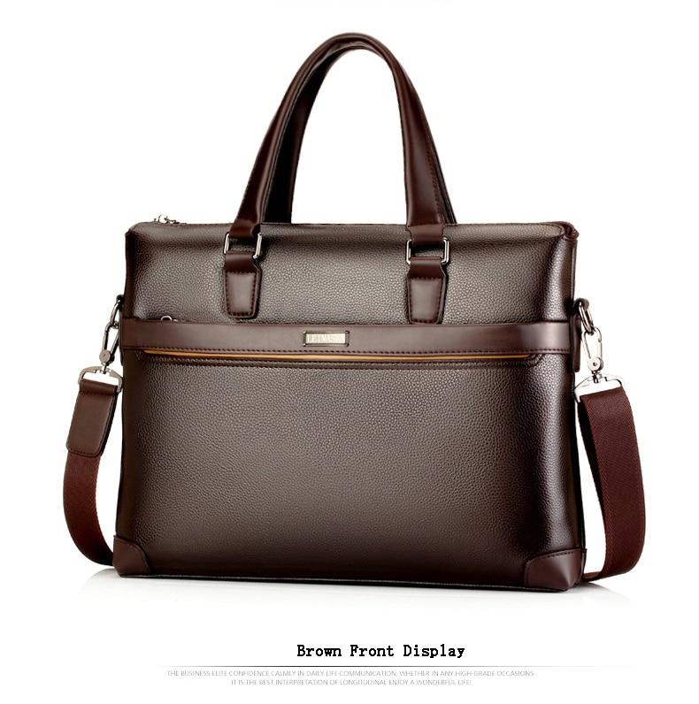 HTB1AQGpdk9E3KVjSZFGq6A19XXaR bolso hombre maleta lawyer sac luxe sacoche homme leather briefcase messenger lo mas vendido business office laptop bags for men