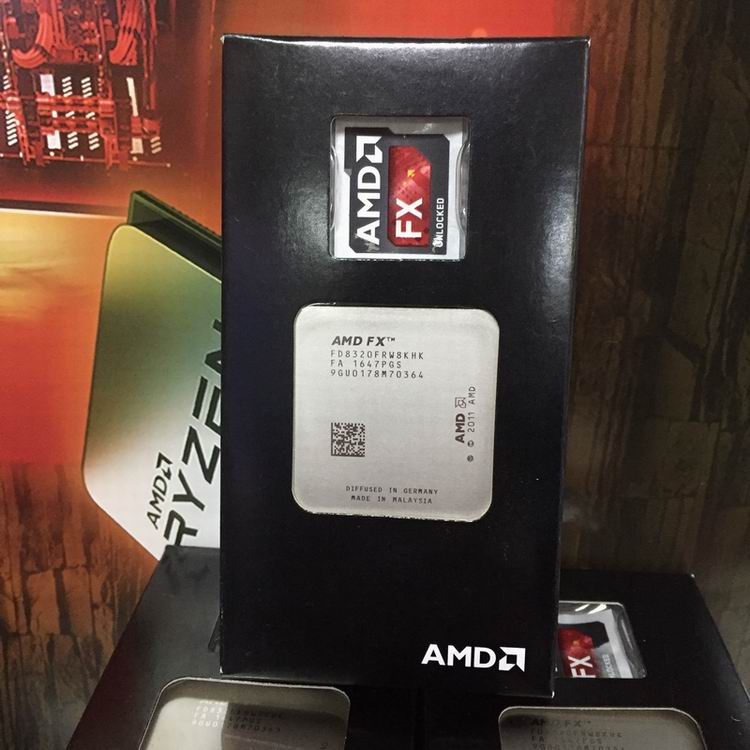 Amd Fx 8320 Fx 8320 Cpu Processor Fx Series Eight Core 3 5g 125 Watt