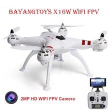 BAYANGTOYS X16 Безщеточный WiFi FPV Drone С 2-МЕГАПИКСЕЛЬНАЯ Камера HD 2.4 ГГц 6 Оси Гироскопа RC Мультикоптер VS Cheerson CX-20 Мини Drone