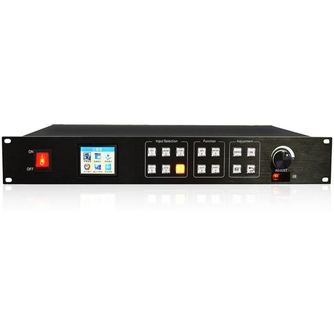 KYSATR KS600 LED Video Processor Scaler 1024*768 1920*1200 Support 2 Sending Cards DVI VGA HDMI
