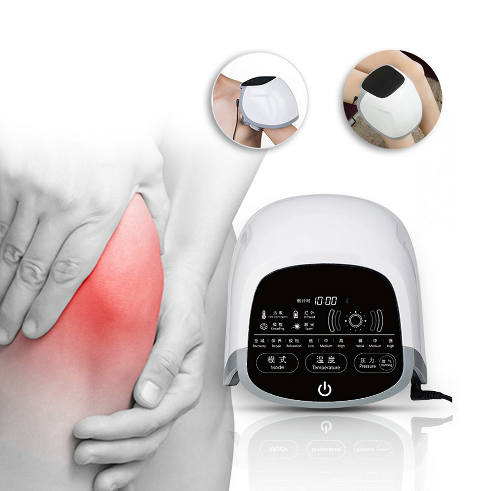 Knee Physiotherapy Instrument Arthritis Joints Pain Relief Cold Laser Therapy Equipment 4 in 1 Medical Equipment