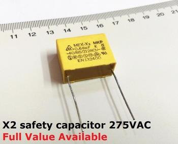 10PC X2 kondensator bezpieczeństwa 275VAC 0 001uf 0 0022 0 0047 0 01 0 022 0 033 0 047 0 068 0 1uf 0 15uf 0 47uf 0 22uf 0 68uf 0 33UF 1UF tanie i dobre opinie KAI TUO DA Rf mikrofalówka Przez otwór JH-VVV Capa-jh Naprawiono pojemnościowe Film pojemny MULTI JH-TTT Free 24Hours