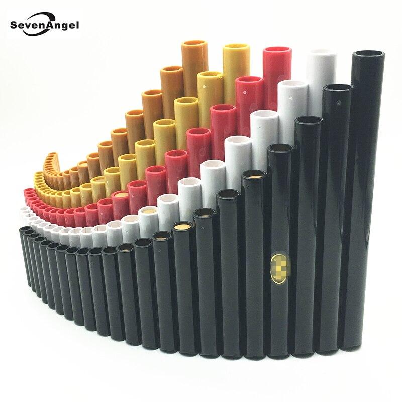Высокое качество флейте 22 труб ABS Материал ветер Флейта Свирель вправо/левой ручной работы народный музыкальный инструмент трубы Dizi