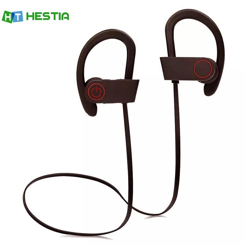 HESTIA Q6 Bluetooth Headphone Wireless Sports Headphones Sweatproof Earphones Heavy Bass Headset For Smart Phones iPhone/Samsung