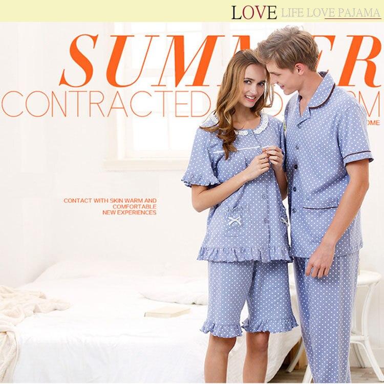 Lovers New 2015 Women Girls Pajamas,Soft Sleeve Pyjamas Set Femal Cartoon Pajamas Sets Lady Nighrgowns Sleepwear - LOVE LIFE PAJAMA store