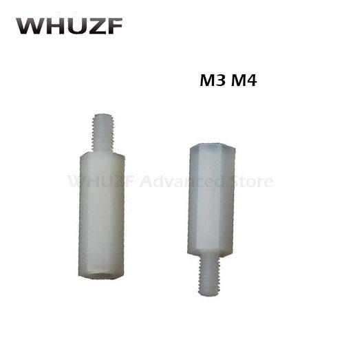 M3 M4 White Nylon Socket Cap Allen Screws For Electronic//Machine//PCB//PC//Toy//DIY
