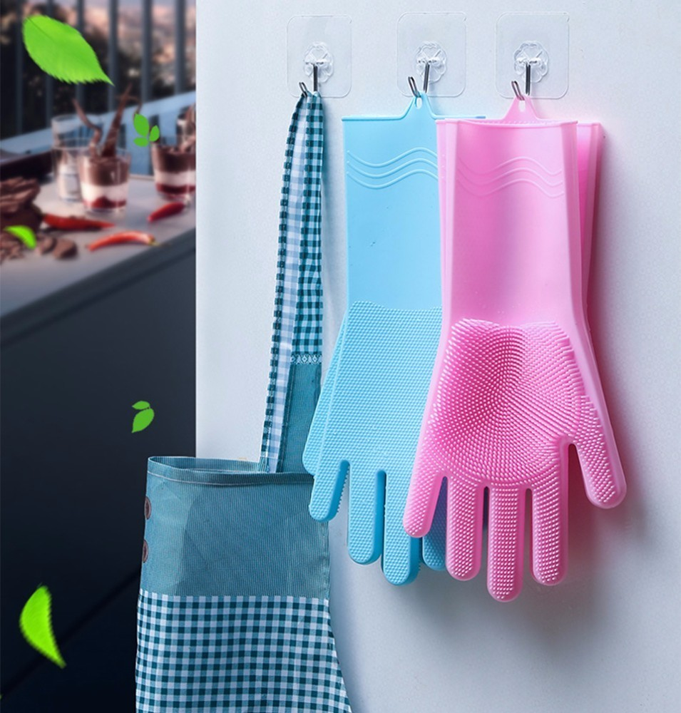 Image 5 - VOZRO Magic For Louder Rubber Garden Latex Hand Gloves Washing Dishes With Dish Washers For The Kitchen Car Wash And Pet Care-in Household Gloves from Home & Garden