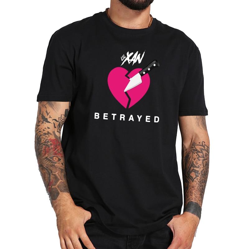 Rock camiseta Lil Xan algodón de manga corta nueva llegada camiseta juventud Rapper impresión gráfica camisetas hombres ee.uu. tamaño apuesta listo