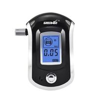 2017 Profesyonel Mini Polis Dijital LCD Ekran Breath Alkohol Alkol Tester Breathalyzer AT6000 Bafometro Alcoholimetro