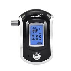 2019 profissional mini polícia digital tela lcd respiração alkohol álcool tester bafometro alcoometro bafometro at6000 bafometro
