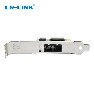 Image 2 - LR LINK 7210PF SC LX PCI gigabit Ethernet רשת כרטיס 1000M LX סיבים אופטי שולחן העבודה מתאם מחשב מחשב אינטל 82545 SMF Nic