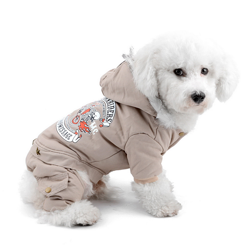 New Arrival Small Dog Cat Cold Weather Coats Dog Jumpsuit