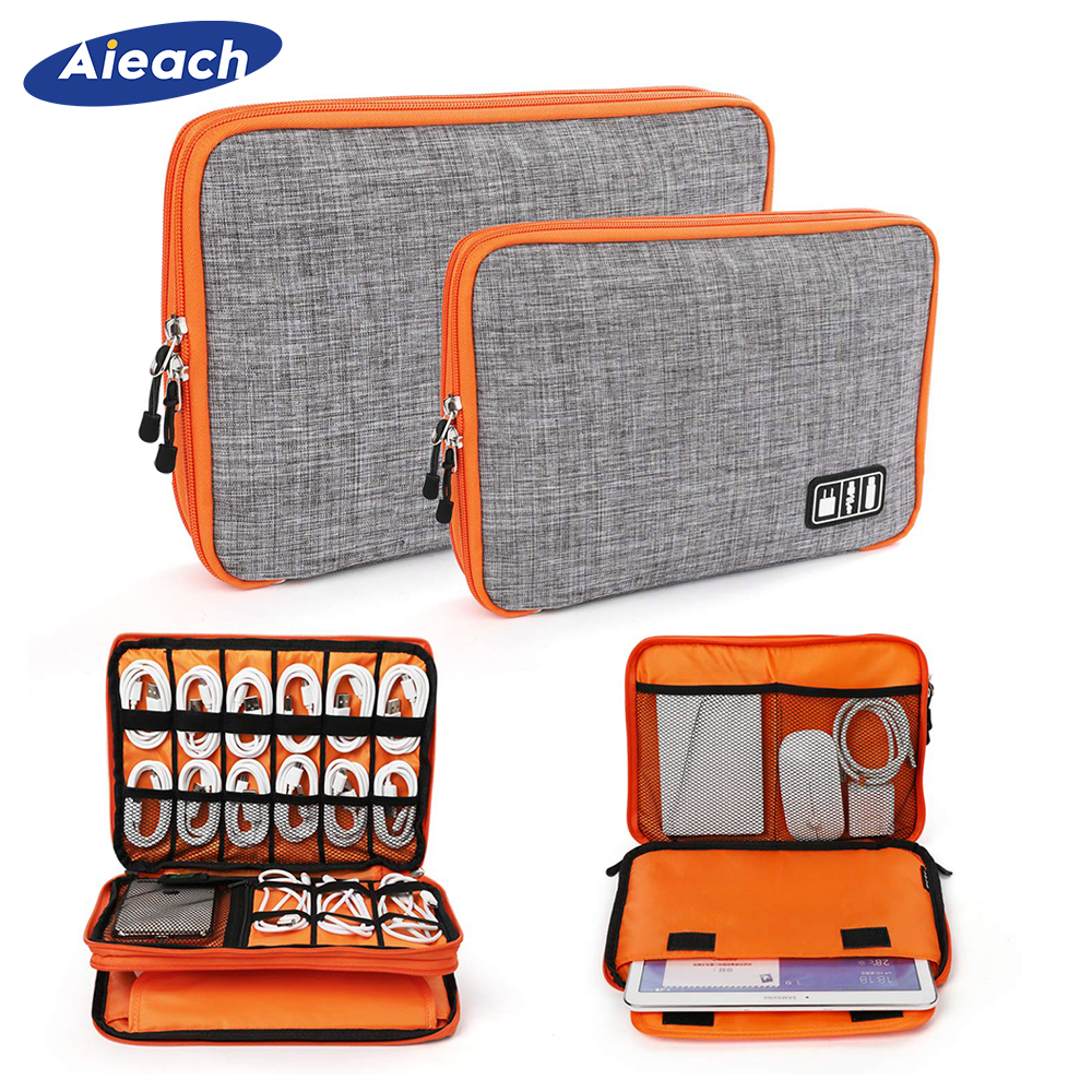 For iPad 9.7 2017 2018 Air 1 2 3 Sleeve Case For iPad Pro 11 10.5 9.7 Electronic Accessories Storage Bag For iPad mini 5 4 3 2 1