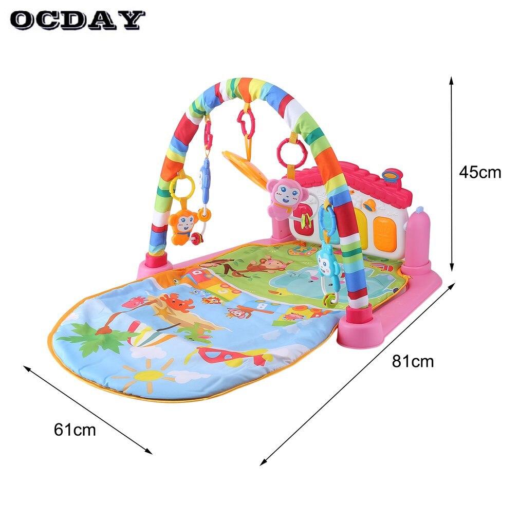 Tapetes de Jogo desenvolver ocday 3 em 1 Tipo Pacote Includes : 1 x Baby Foot Piano Music Play Mat