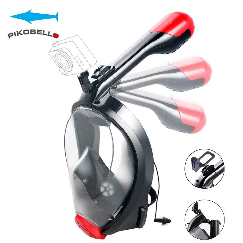 Masque de plongée Anti-buée masque de natation masque de plongée 180 degrés pour lunettes de chasse sous-marine