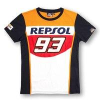 REPSOL MOTO GP VR46 T Shirts 93 Motorcycle Youth MAV T Shirts Racewear Dirt Bike Jersey
