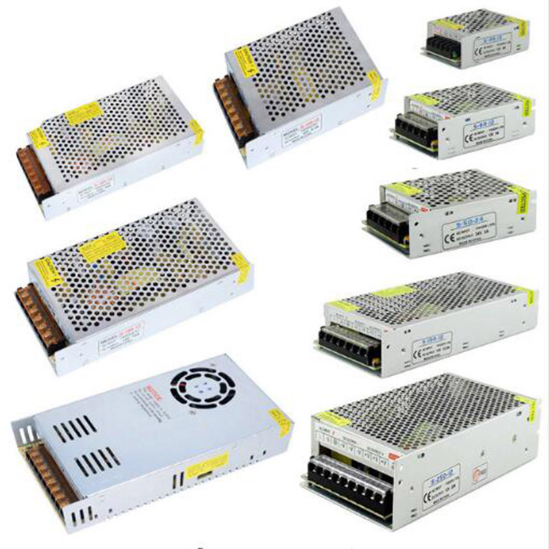 12v switching power supply adapter led strip SM5050 SMD3528 SMD5630 light transformer 5A,8.5A,10A,12.5A,15A,16.5A 20A,30A,33A