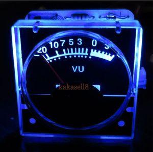 Image 2 - 2 قطعة 12 v التناظرية لوحة VU متر مستوى الصوت متر الأزرق الضوء الخلفي مؤشر مستوى الموسيقى الطيف