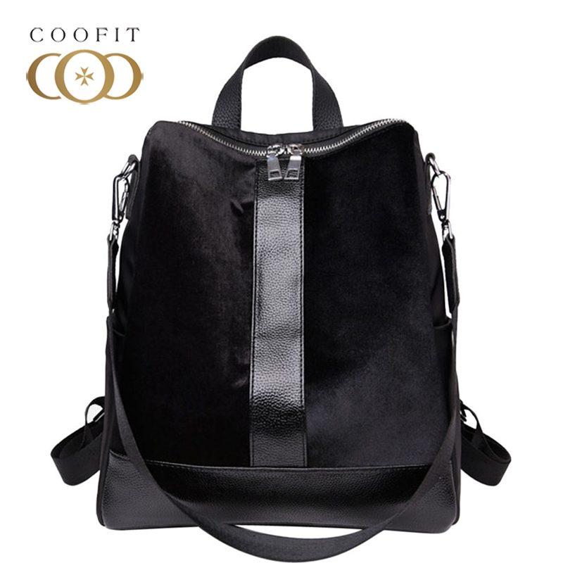 2018 New Vintage Oxford Black Backpack For Girls Retro Female Women Travel Shoulder Bag Adjustable Strap Small Satchels Rucksack2018 New Vintage Oxford Black Backpack For Girls Retro Female Women Travel Shoulder Bag Adjustable Strap Small Satchels Rucksack
