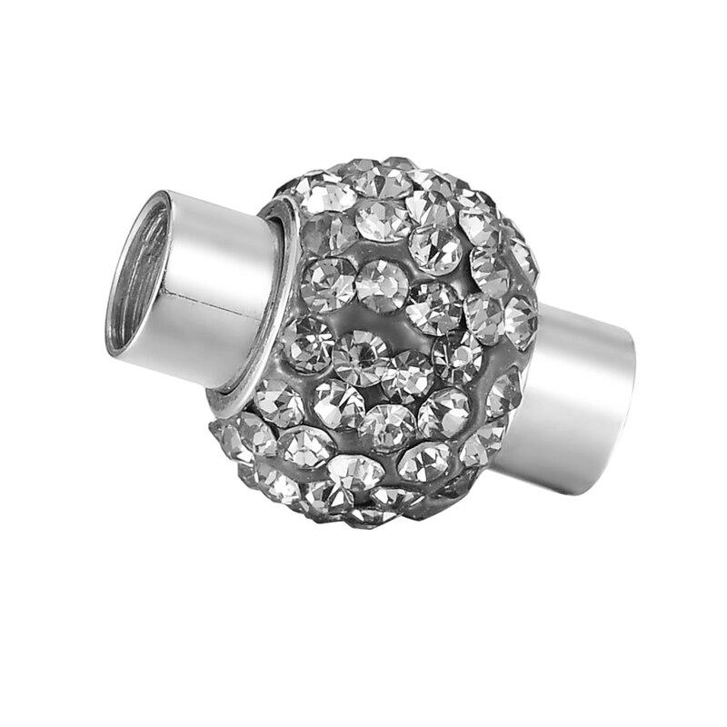 Acier Inoxydable Verrouillage Magnétique Fermoirs Pour Bijoux À faire soi-même 10 mm x 4 mm