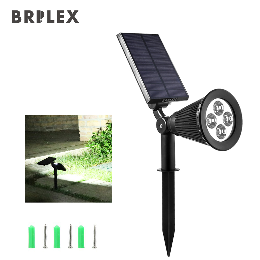 Brilex Solar Protable Lamp LED Lights Automatic On/Off Sensor Outdoor - Holiday Lighting