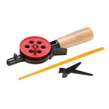 Bobing Portable HFB-8/8X  Winter Ice Fishing Rod Unitary Small Sea Rod Spinning Fishing Tackle Bait casting Lure Pesca Pole