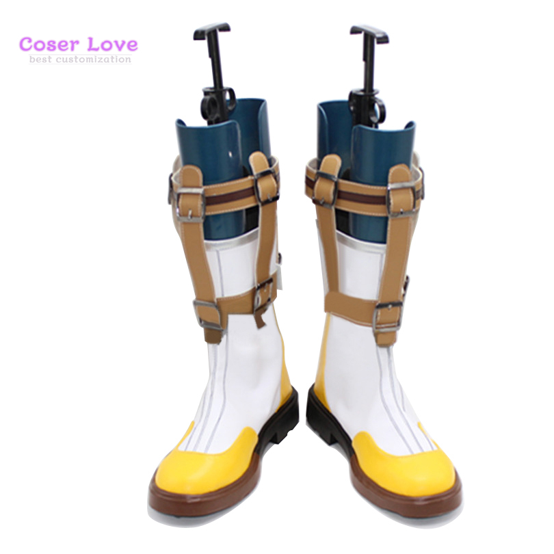Tales of Zestiria Sorey Cosplay Carnaval Shoes Boots Halloween Christmas Shoes