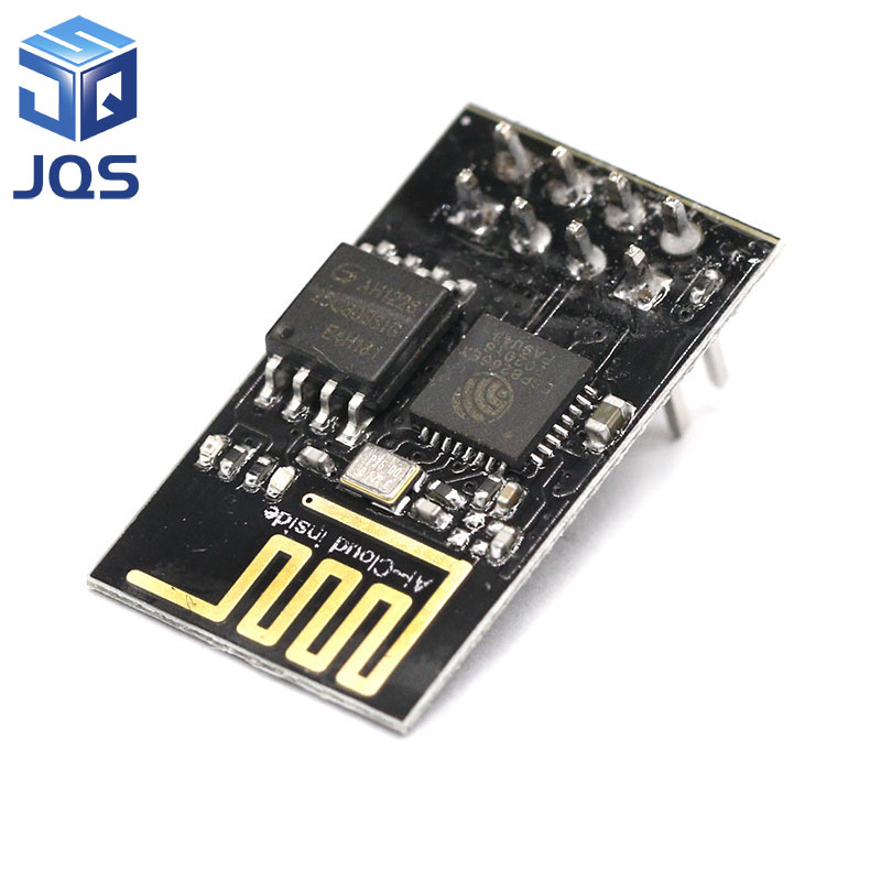 Upgraded version ESP-01 ESP8266 serial WIFI wireless module wireless transceiver ESP01 ESP8266-01 10pcs lot esp8266 serial wifi wireless esp 01 adapter module 3 3v 5v compatible serial module