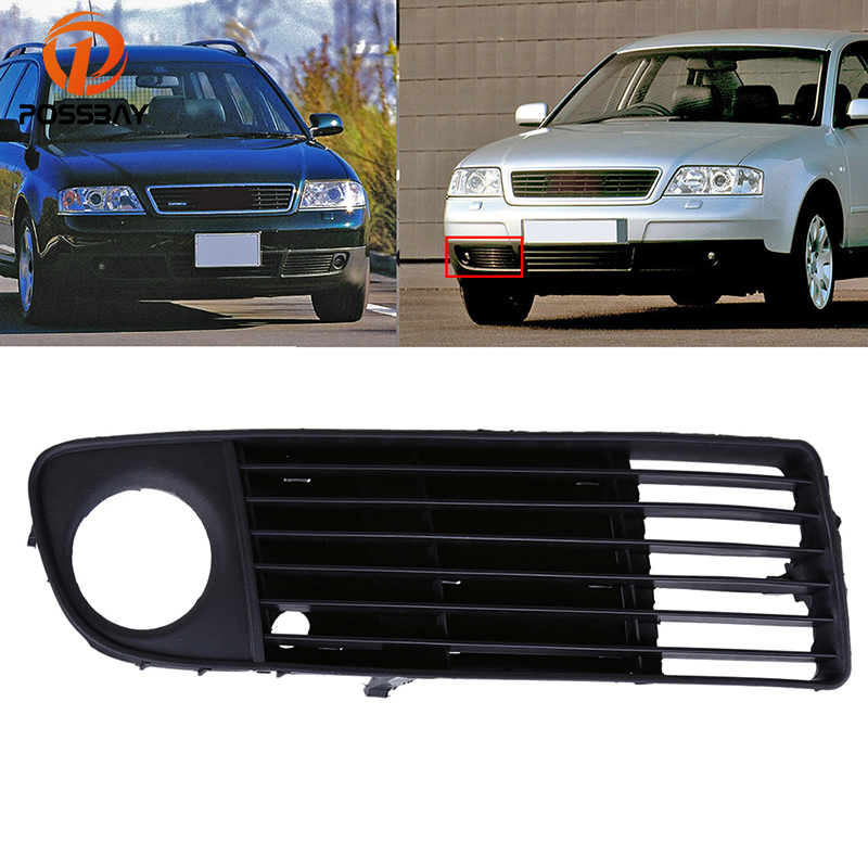 Headlight Chrome Trim Mouldings PAIR Fits AUDI C5 1997-2001