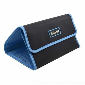 Image 5 - KnightX capuchon dobjectif etui portefeuille sac filtrant pour 49mm 77mm pochette de support UV CPL pour pochette de support UV CPL anneau couleur cokin p series