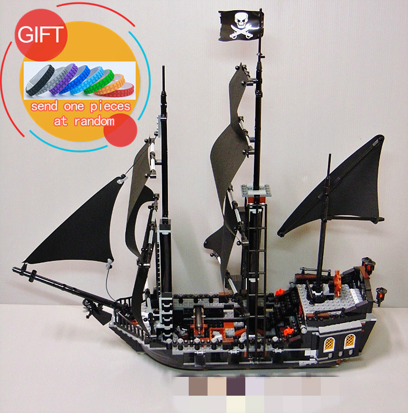 16006 804pcs Pirates of the Caribbean The Black Pearl Set Educational Building Blocks compatible with 4184 Toys lepin waz compatible legoe pirates of the caribbean 4184 lepin 16006 804pcs the black pearl building blocks bricks toys for children