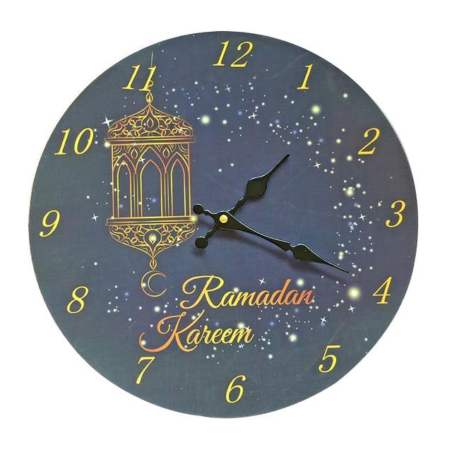 Jam dinding Islam Nmerals Dekoratif Jam Dinding Antik Ruang Nostalgia Kayu  Dinding Jam Dekorasi Rumah Dekorasi 8676931af5
