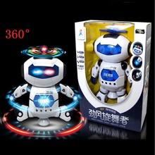 HOT Smart Space Dance Robot Electronic Walking Toys With Music Light Gift For Kids Astronaut Toy