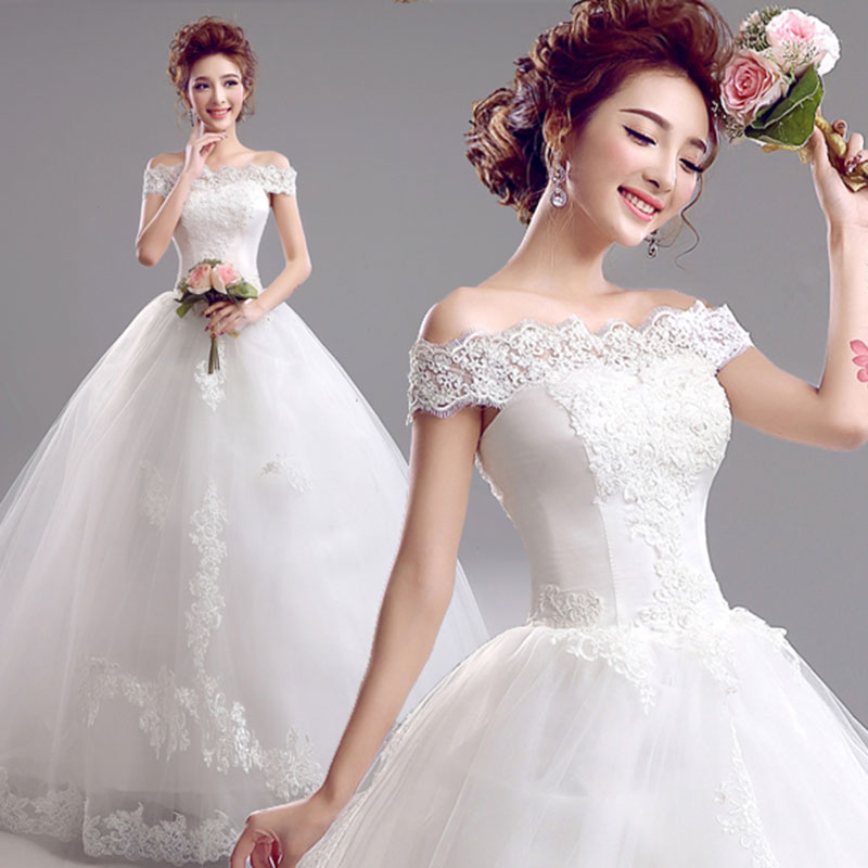 Elegant Off The Shoulder Luxury Floral Organza And Lace