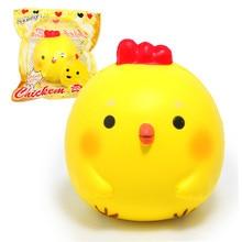 """HOT 3.9 """"Jumbo Chicken Baby Licin Lembut Boneka Squeeze Toy Koleksi Asli Paket Kartun Beraroma Lambat Meningkatnya Tali Telepon"""