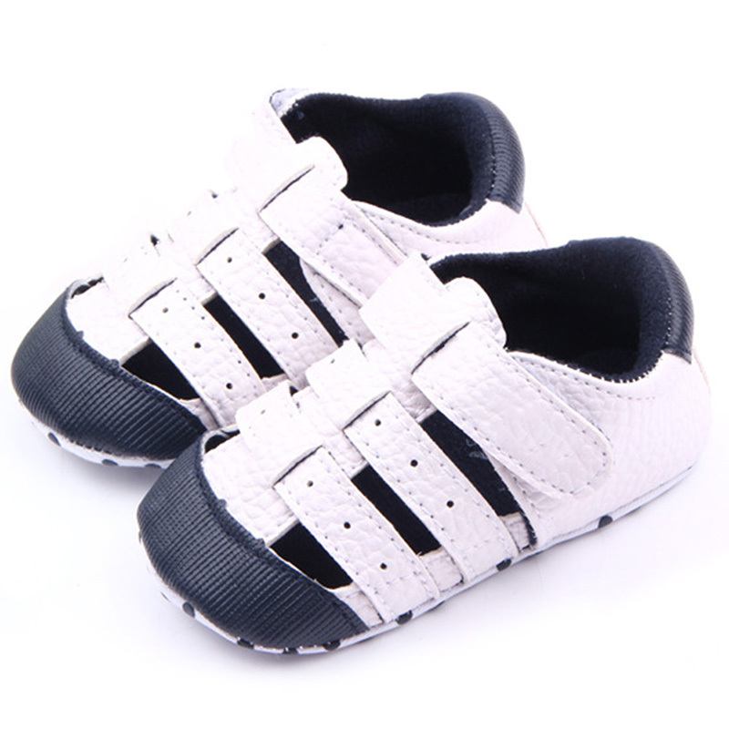 Toddler Baby Shoes Boys Girls Outdoors Soft PU Leather Infant First Walker Shoes