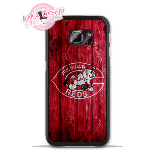 Cincinnati Reds Baseball Sport Case For Galaxy S8 S7 S6 Edge Plus S5 S4 mini active Ace Win S3 Core Note 4 2