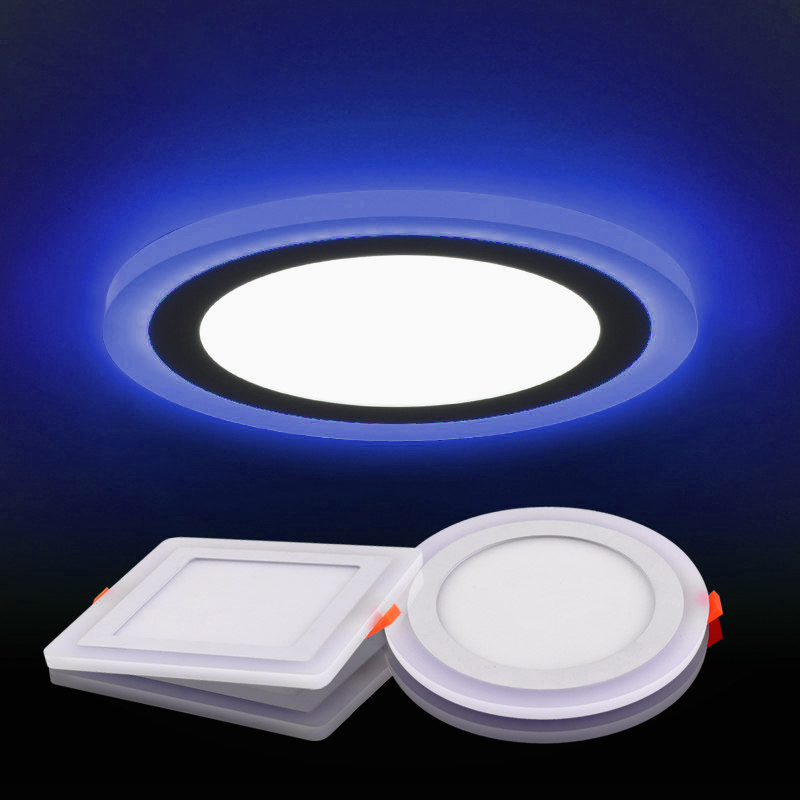 Surface mounted led panel light 6w 9w 16w 24w round suspended surface mounted led panel light 6w 9w 16w 24w round suspended ceiling panel led lamp white industrial light in led panel lights from lights lighting on mozeypictures Gallery