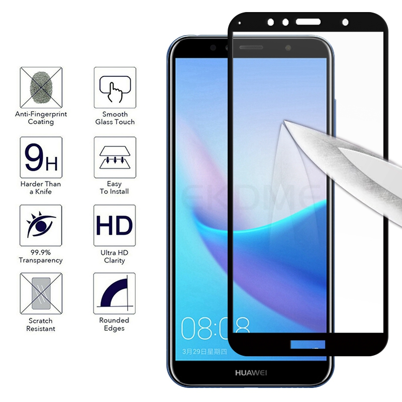 9H Full Coverage Tempered Glass For Huawei Honor 7A Pro AUM-AL29 7A 5.45