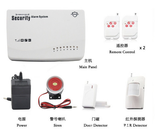 New Wireless GSM Home Security Alarm System PIR Door alarm Sensor,burglar alarm system wireless smoke fire detector for wireless for touch keypad panel wifi gsm home security burglar voice alarm system