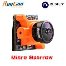 RunCam Micro Pardal WDR 700TVL 1/3 CMOS 2.1mm FOV 145 Graus 16:9 NTSC/PAL Selecionável Câmera FPV para Corridas de FPV Zangão