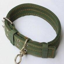 High Quality Braided Nylon Big Dogs Collars & Leash