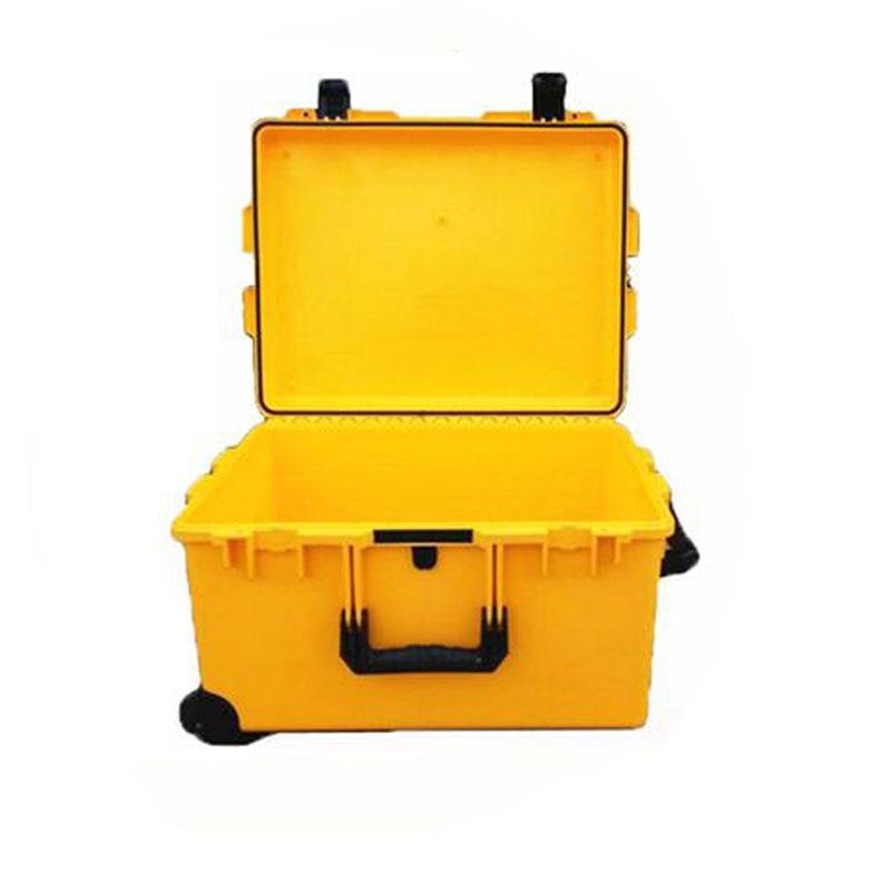 Waterproof IP67  Plastic Flight Case M2750 With Pre-cut Foam