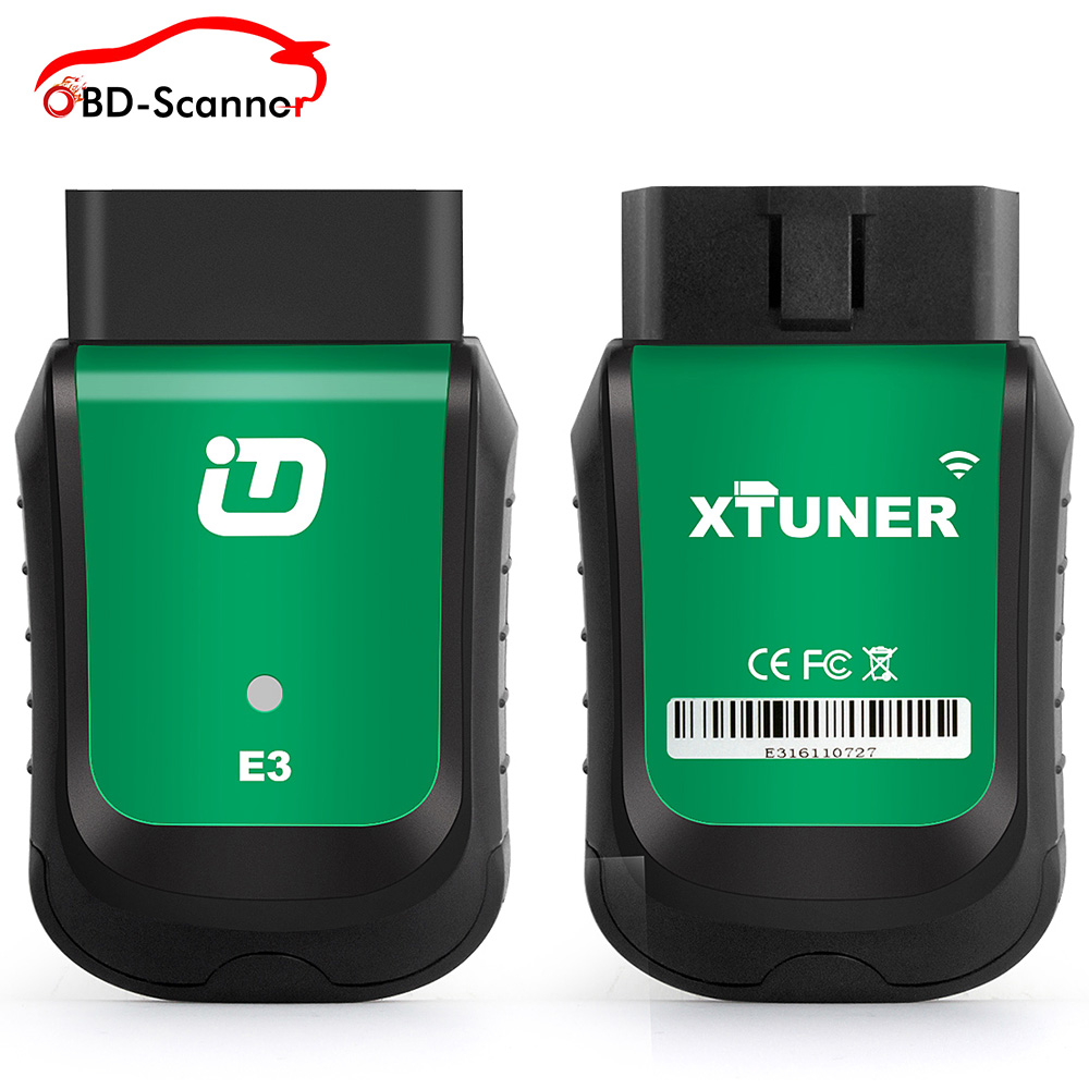 Prix pour XTUNER E3 Automobile De Diagnostic Scanner OBD2 Wifi Code Scanner Voiture EUC ABS Airbag SRS Réinitialiser Outil De Pleine Système De Voiture détecteur