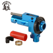 цена на SINAIRSOFT CNC 7075 Aviation Aluminum Hop up Chamber for M4 M16 Series AEG Airsoft Marui, Dboys, JG etc Hunting Accessories
