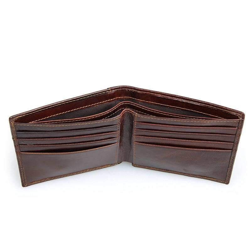 Dollar United ブロッキングクレジットカードホルダー財布ヴィンテージデザイナー本革男性の財布 Vallet 4